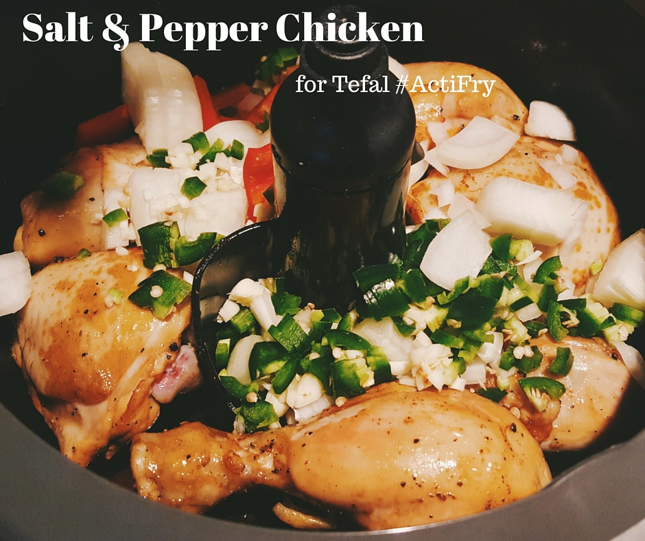 salt and pepper chicken healthy cooking with tefal